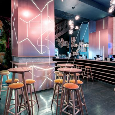 Play Club bar interior design