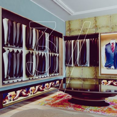 Alberto Tailor Suits Boutique design