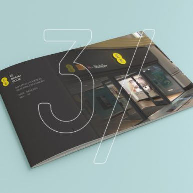 Branding 3 Fingers design studio - graphic design EE Brand Book_1