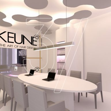 Keune hair salon design