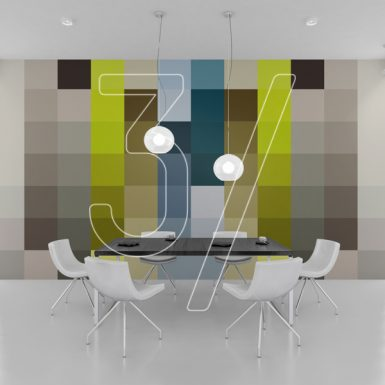 3 Fingers design studio - graphic design Wall Mural